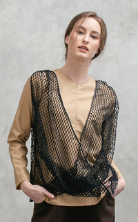 Blouse Rivest Tops Brown