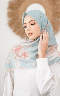 Printed Scarf Taat Abstract