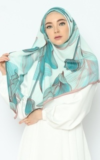 Printed Scarf Nature Series - Mystical Forest Pure Tencel Scarf
