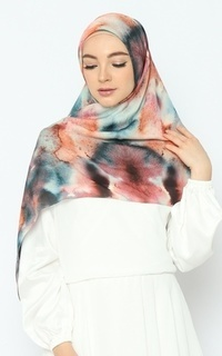Printed Scarf Nature Series - Evening Sky Pure Tencel Scarf