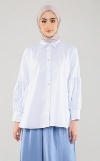 Kemeja Erin Shirt - Blue