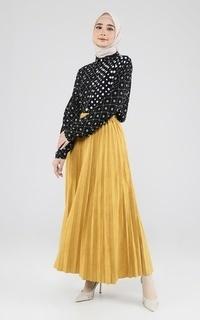 Rok Long Skirt Plisket 2