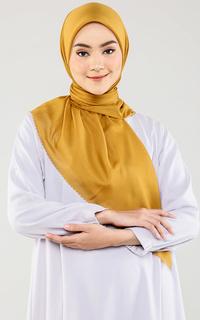 Hijab Polos Mustard Scarf