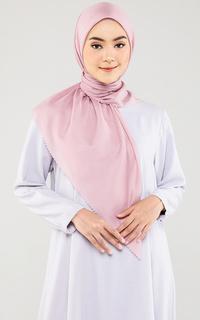 Hijab Polos Dusty Pink Scarf