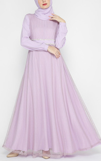 Gamis Claire Dress Lilac