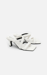 Shoes Lucia Heels White