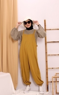 Jumpsuit Ghania Overall MUSTARD M15730 R108S2