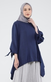 Blus Blouse L/S with Bow Tania 2
