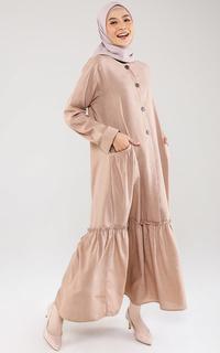 Long Dress Gamis Fannan