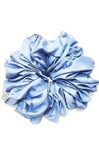 Headpiece Hair Volumizer Scrunchie Blue