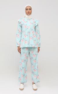 Blouse Flower Tosca Pajamas Set