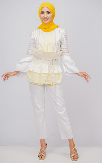Blus Tunique Wear | Noona Blouse Cotton Poplin | Lini Collection