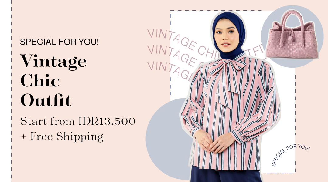 Special for you! Vintage Chic Outfit