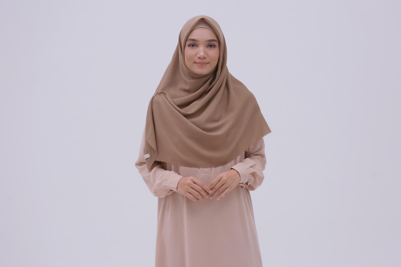 Tutorial Hijab Syari Segi Empat