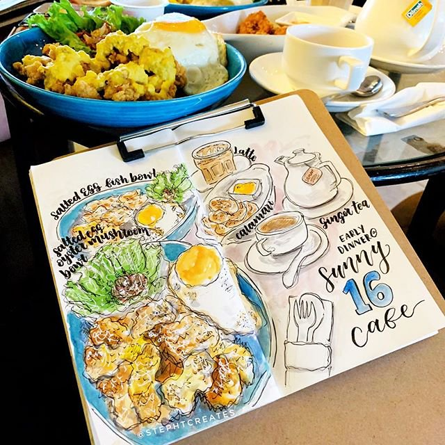 Salted-Egg-Fish-Portabella-Bistro-Fontana-Hotal-Bali