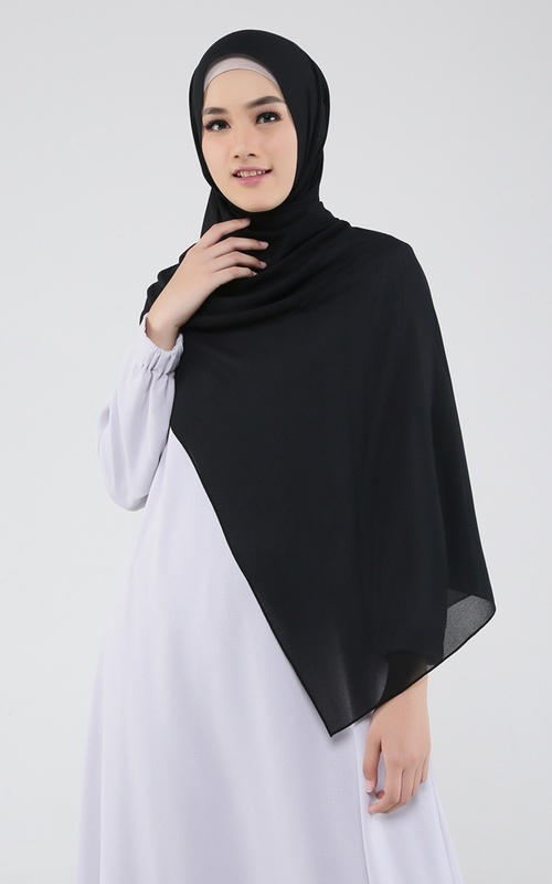 Ukuran Standar Hijab Pashmina Dan Hijab Segi Empat Hijup