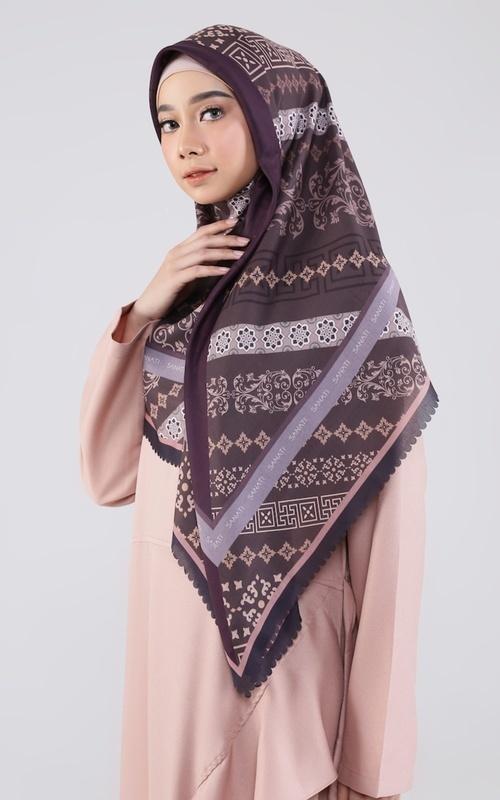 baju muslim warna peach