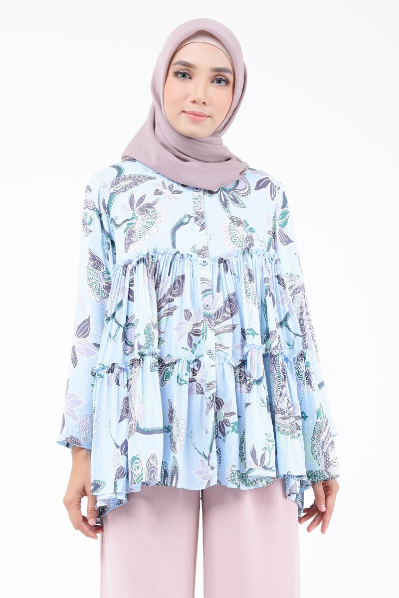 Pattern Blouse Model Baju Atasan Terbaru Yang Cocok Untuk Halal
