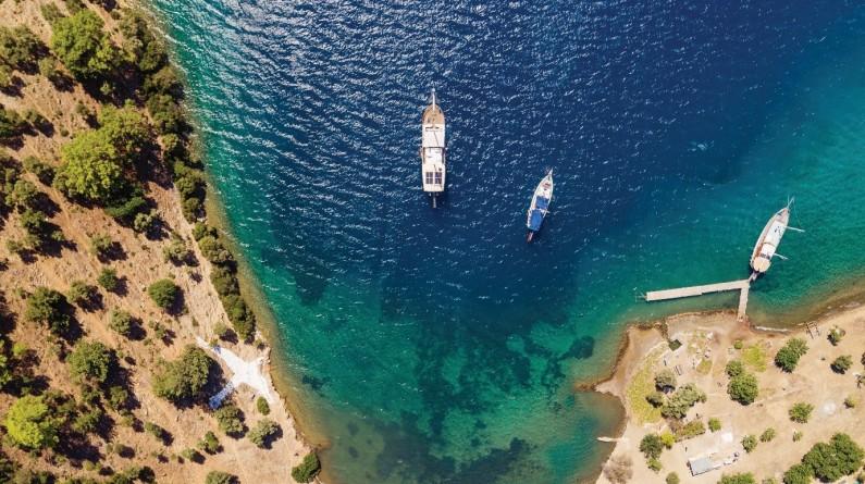 Boat Tour Fethiye Hillside