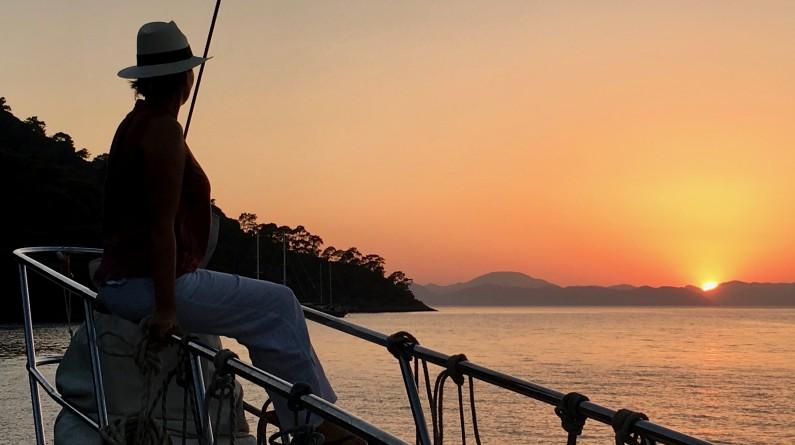 Sunset at Fethiye
