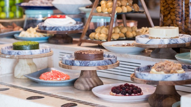 Dessert Buffet at Hillside Beach Club