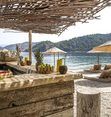 Beach Bar In Fethiye