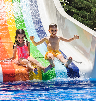 Kids Waterslide