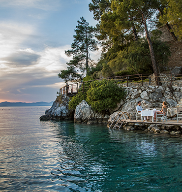 Pebble Beach Restaurant In Fethiye