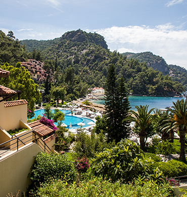 Pools Near Sea In Fethiye