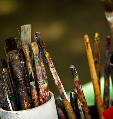 Kunst, die von Herzen kommt - nehmen Sie einen Pinsel und lassen Sie Ihrer Kreativität freien Lauf