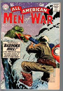 ALL AMERICAN MEN OF WAR #69-1959-WWII-DC-SILVER AGE G