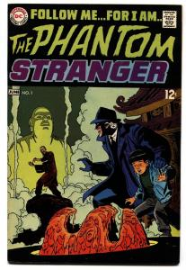 PHANTOM STRANGER #1-DC comic book 1969-HORROR