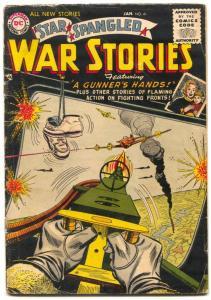 Star Spangled War Stories  #41 1956 DC COMICS Parachute cover G-