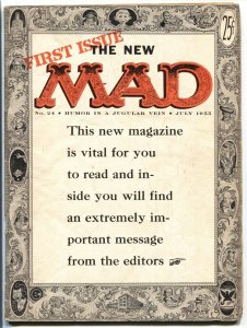 MAD MAGAZINE #24 First magazine issue EC 1955