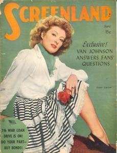 ScreenLand-Greer Garson-Charles Bickford-Alan Ladd-Joan Caulfield-June-1945