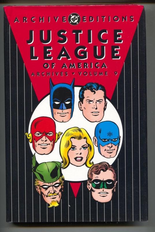 Justice League Of America Archives-Vol 9-Golden Age Color Reprints-Hardcover