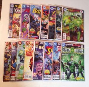 Retroactive 1 70s 80s 90s Batman Flash Green Lantern JLA Superman NM Lot Set Run