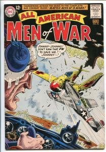 ALL-AMERICAN MEN OF WAR #96-1963-DC-SILVER AGE-BATTLE ACES OF 3 WARS-HEATH-vf
