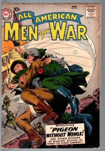 ALL AMERICAN MEN OF WAR #70-1959-WWII-DC-SILVER AGE VG