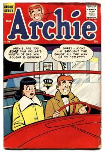 Archie #99 1959-MLJ-Veronica-car date cover-comic