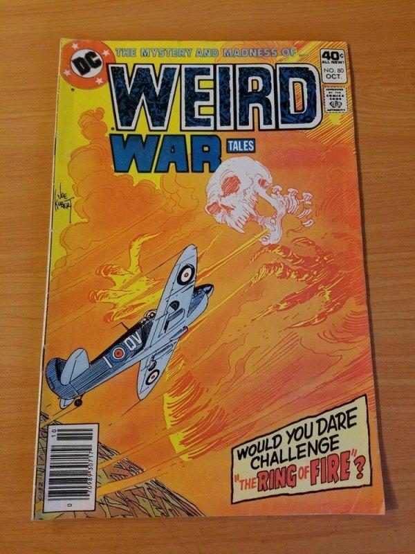 Weird War Tales #80 ~ FINE - VERY FINE VF ~ (1979, DC Comics)