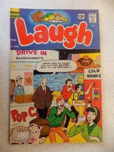 LAUGH # 179 ARCHIE COMICS JUGHEAD JOSIE BETTY HUMOR