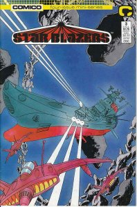 Star Blazers #3 VF; COMICO | save on shipping - details inside