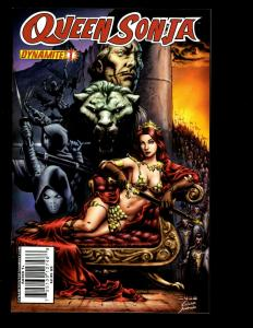 Lot Of 11 Queen Sonja Dynamite Comics # 1 3 4 5 6 7 10 11 13 14 15 Conan SM2