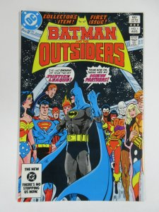 BATMAN & THE OUTSIDERS 1 August 1983