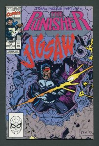 Punisher #36 / 9.0 VFN/NM  Jigsaw  Part One August 1990