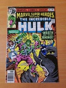 Marvel Super-Heroes #76 ~ FINE - VERY FINE VF ~ (Nov 1978, Marvel Comics)