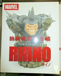 Rhino Marvel Art Asylum's Rogues Gallery Diamond Select Toys Spider-Man villain