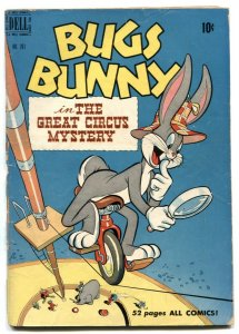 Bugs Bunny in The Great Circus Mystery-Four Color Comics #281