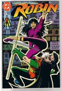 ROBIN #4, NM+, Chuck Dixon, 1991, more DC and Batman in store